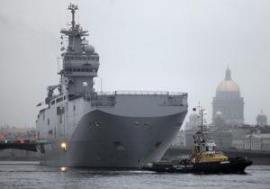 В Минобороны Франции подтвердили, что Россия не получит Mistral с вооружениями