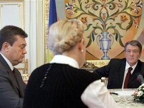Янукович призвал Ющенко и Тимошенко выбирать президента и Раду одновременно