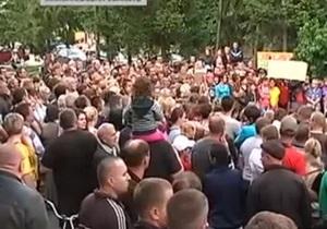 Протестующие из Врадиевки, которые отправились пешком в Киев,  дошли до Первомайска