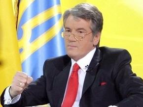 От Ющенко ждут  ассиметричного  ответа Медведеву