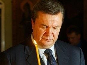Завтра Янукович пойдет в монастырь