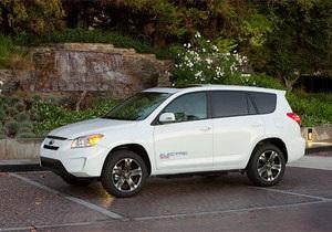 Toyota представила электрическую модификацию RAV4