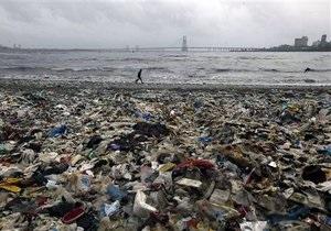 Пластиковый мусор в море аккумулирует яды