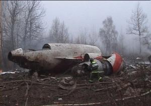 Польша обнародует информацию о расследовании крушения Ту-154 под Смоленском