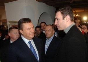 Кличко рассказал, как Янукович говорил с ним на фене