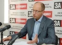 Яценюк: Оппозиция может подать иск против Януковича в ЕСПЧ