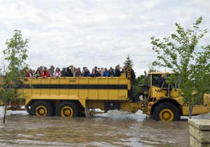 Канада - наводнение - В Канаде готовится массовая эвакуация из-за наводнений