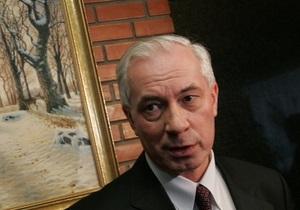 Азаров заявил, что все решения в Киеве принимает Попов вместе с Кабмином