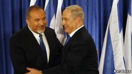 Партии Нетаньяху и Либермана в Израиле решили слиться