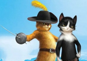 DreamWorks показала подружку кота из Шрека