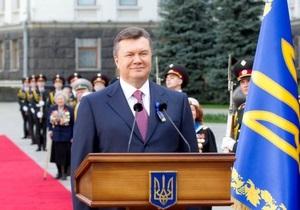 УП: Янукович оконфузился в День Победы