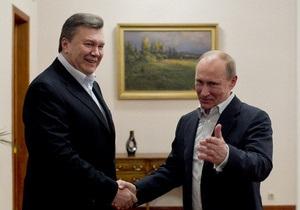 Янукович и Путин - посол РФ - Посол РФ: Очередная встреча Януковича и Путина может состояться в Астане 29 мая