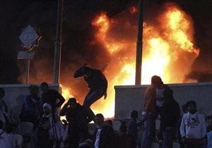 Столкновения в центре Каира: более 100 человек получили ранения