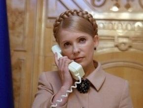 Завтра Тимошенко два часа будет отвечать на звонки аграриев