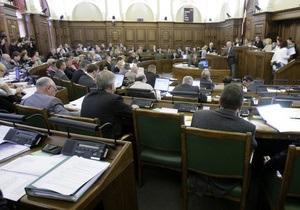 Латвийские депутаты решили не присваивать русскому языку статуса второго рабочего в парламенте