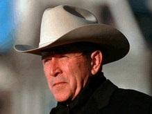 Буш поставил на своем ранчо большой каменный крест