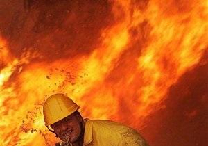Сегодня ночью в Святошинском районе Киева горели склады