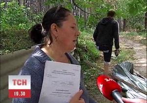 Неизвестные снова пытались захватить дом учительницы Москаленко