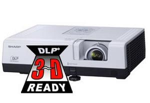 Новый 3D проектор - Sharp XR-55X