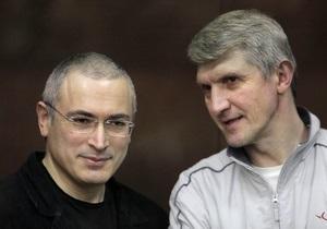 Ходорковский и Лебедев выйдут на свободу в 2014 году