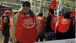 Португалия бастует против мер жесткой экономии