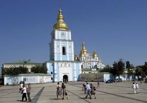 В прошлом году Киев посетили 1,2 млн туристов