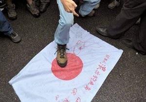 Япония призвала Китай не будоражить националистические чувства