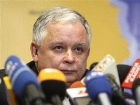 История с самолетом Качиньского попала в рейтинг глупейших поступков политиков страны
