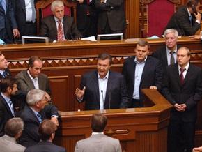Янукович рассчитывает на депутатов,  которые еще не потеряли совесть