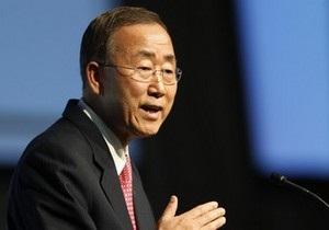 Пан Ги Мун заявил, что ситуация на Корейском полуострове может выйти из-под контроля