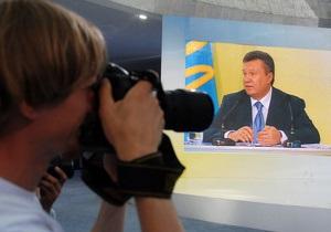 Общение Януковича с народом будут транслировать на Майдане