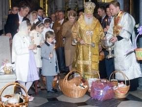 В Пасхальных богослужениях приняли участие более 10 млн украинцев