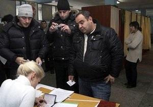Ъ: Партия регионов взяла  грузинский след