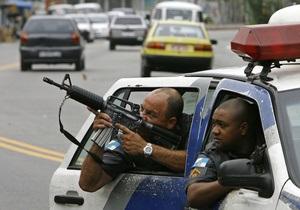 В Бразилии полицейский патруль протаранил самолет контрабандистов
