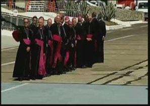 Папа Римский Бенедикт XVI на Кубе