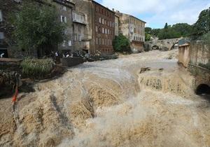 100 тысяч жителей Франции остались без света из-за наводнения