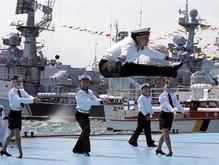 Черноморский флот празднует в Севастополе День России