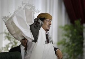 Каддафи заявил, что готов к переговорам с Западом
