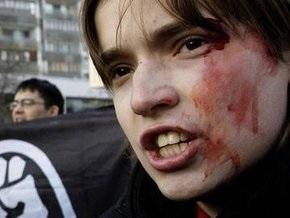 В ходе акций протестов в Москве задержали более 40 человек