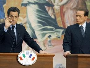 Берлускони пошутил о жене Саркози