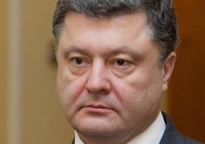 Порошенко: Не думаю, что языковой закон пойдет на пользу Украине