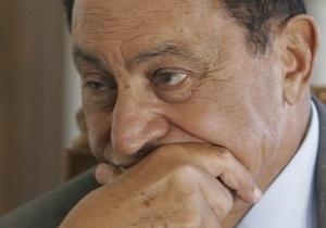 Власти Египта поместят Мубарака под домашний арест