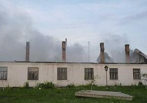 Прокуратура начала проверку по факту пожара в Ровенской области