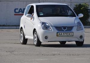 В Украине появился первый серийный электромобиль