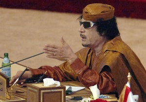 Каддафи: Мир может стать свидетелем страшной войны между мусульманами и христианами