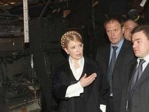 Тимошенко надеется, что Ющенко  защитит нацию от морального разрушения