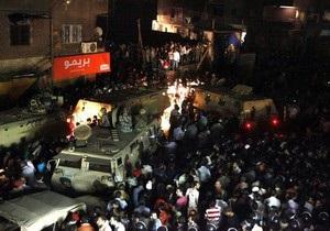 Девушка, из-за которой начались столкновения в Каире, задержана в Египте