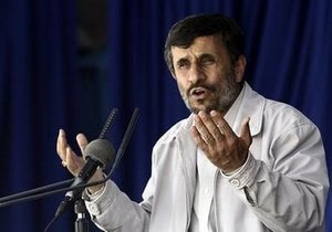 Ахмадинежад сравнил санкции против Ирана с использованным носовым платком