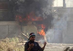 Сирийский конфликт: повстанцы пошли в наступление