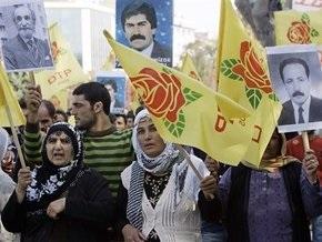 Турецкие власти силой разогнали курдскую акцию протеста